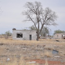 Building at the Ghost Town