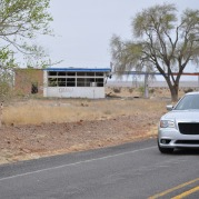 Chrysler 300 at ghost town