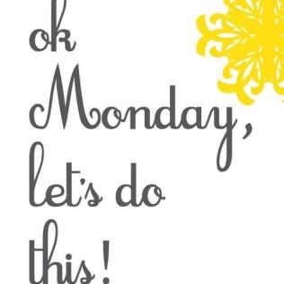 Oh Monday