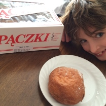 J.W. With His Paczki