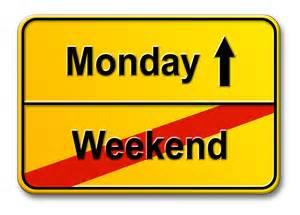 Monday ahead
