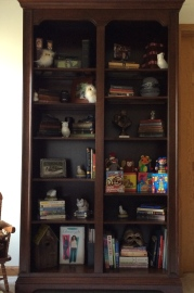 Full view of my bookcase
