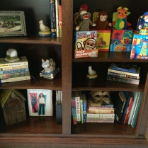 Bookcase bottom half