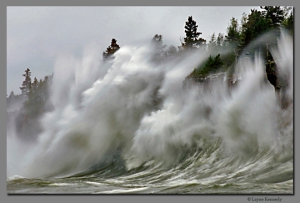 Gales on Lake Superior s