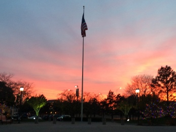 Gerald Ford Sunset